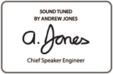 Pioneer Andrew Jones Signature