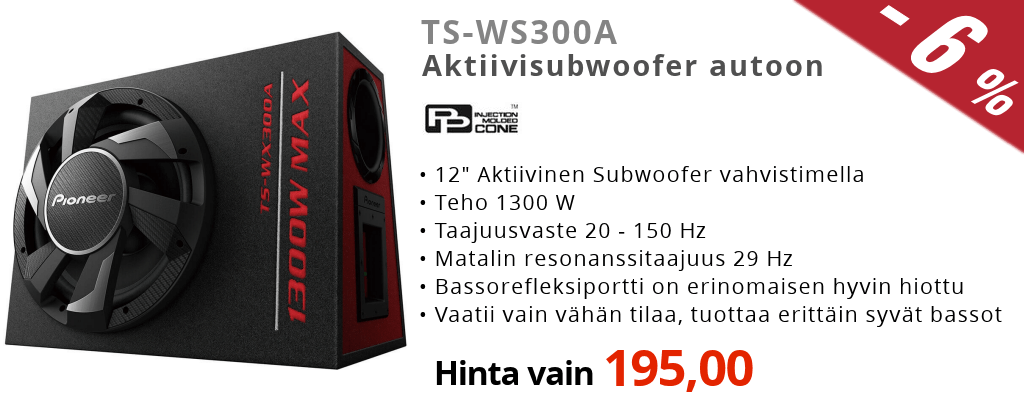 Pioneer TS-WS300A Ale Tarjous