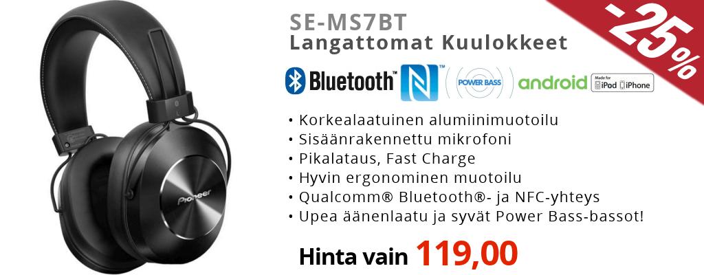 Pioneer SE MS7BT halvin hinta | Katso päivän tarjous